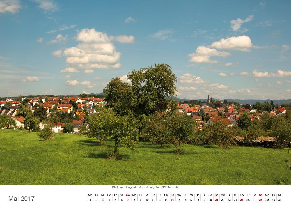 Backnang Stadt und Landschaft 2017