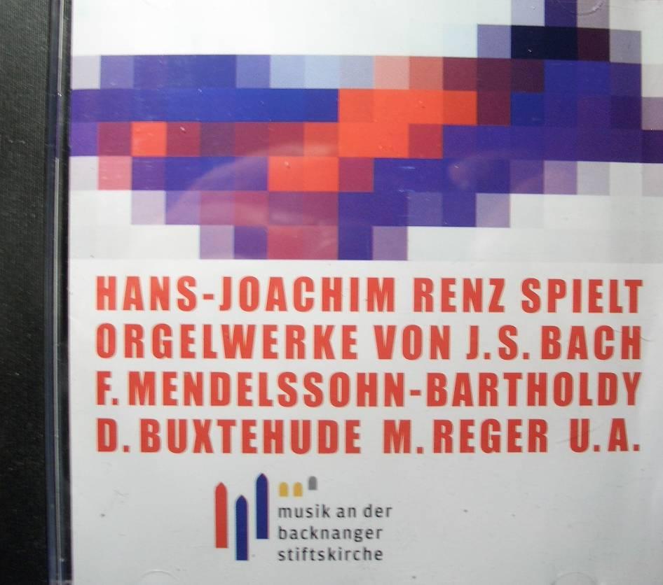 Hans-Joachim Renz spielt Orgelwerke