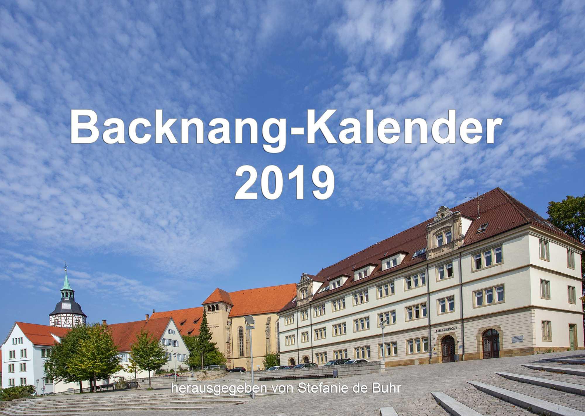Backnang-Kalender 2019