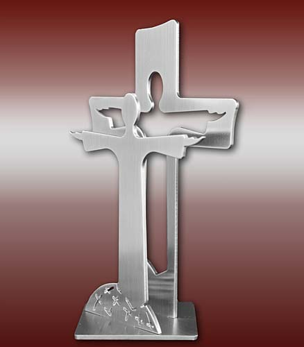 Auferstehungskreuz - Standkreuz-E - 190