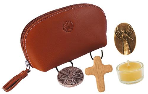 Behütet auf allen Wegen - Die kleine Begleitertasche für Pilger