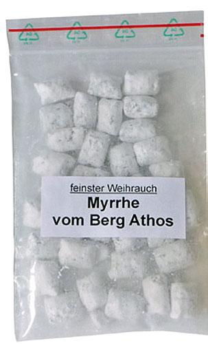 Weihrauch Myrrhe vom Berg Athos - Grundpreis: 10,50 € / 100 g