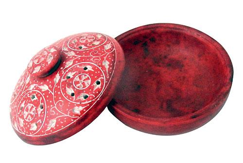 Räuchergefäß - rot