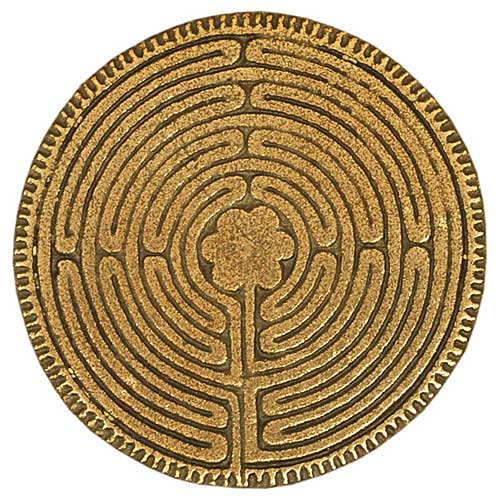 Labyrinth - Plakette