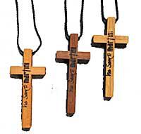 Martinikreuz für den Martinusweg - nussfarben