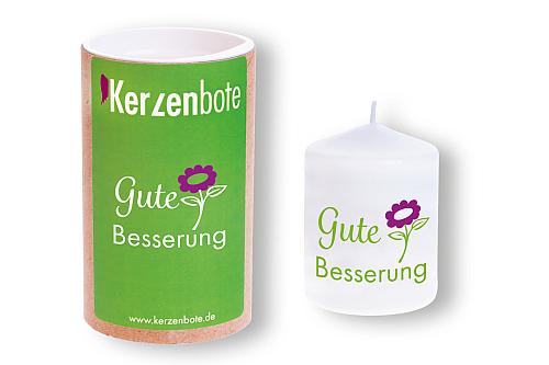Kerzenbote - Gute Besserung