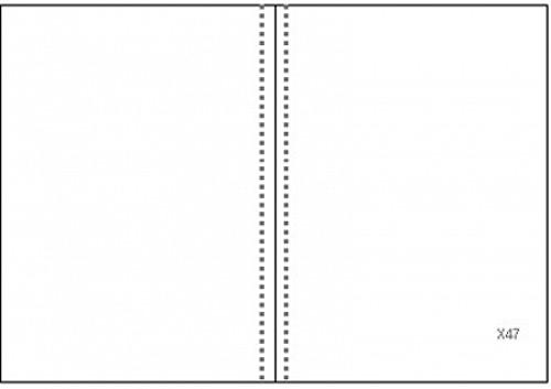 Einlageheft für Pilger-Tagebuch Codex Calixtus - blanko