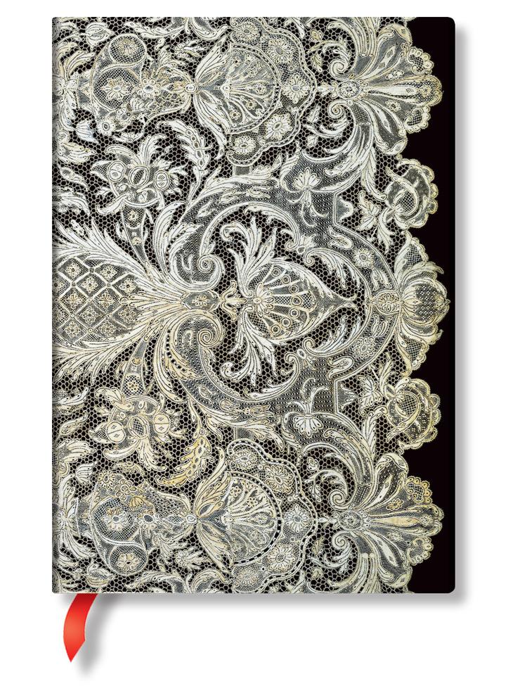 Notizbuch Elfenbeinschleier Midi, liniert