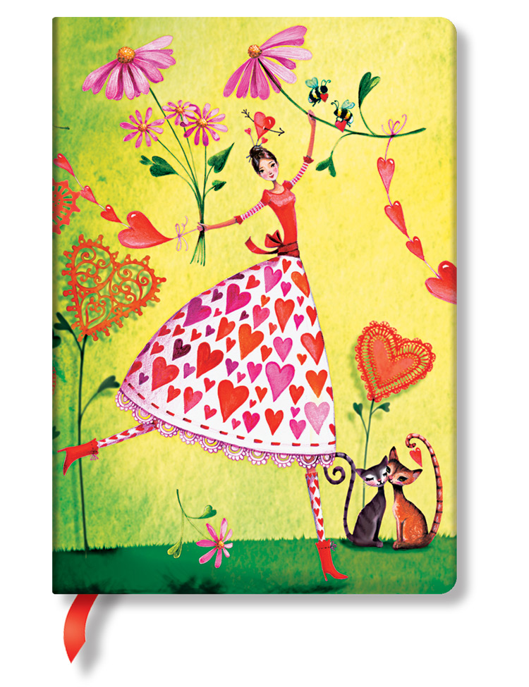 Notizbuch Valentina Midi, liniert