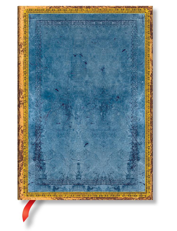 Notizbuch Rivierablau Midi, liniert