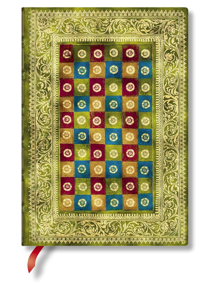 Notizbuch Verde Midi, liniert