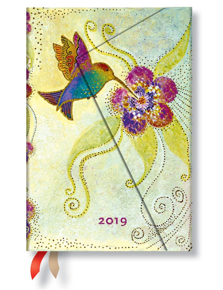 Kalender 2019 - Kolibri, Mini (Wochenüberblick)
