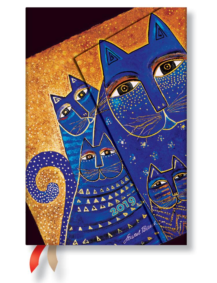 Kalender 2019 - Katzen des Mittelmeers, Mini (Wochenüberblick)