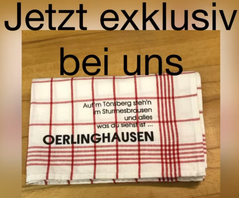 Oerlinghausen Geschirrtuch