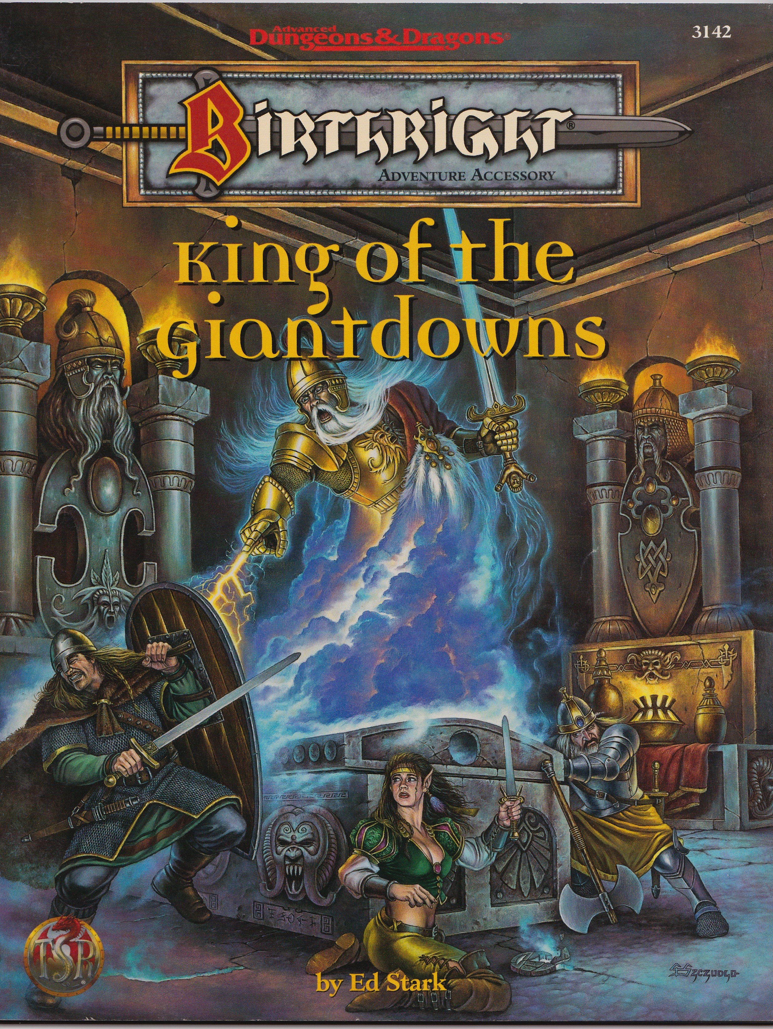 AD&D Birthright, King of the Giantdowns