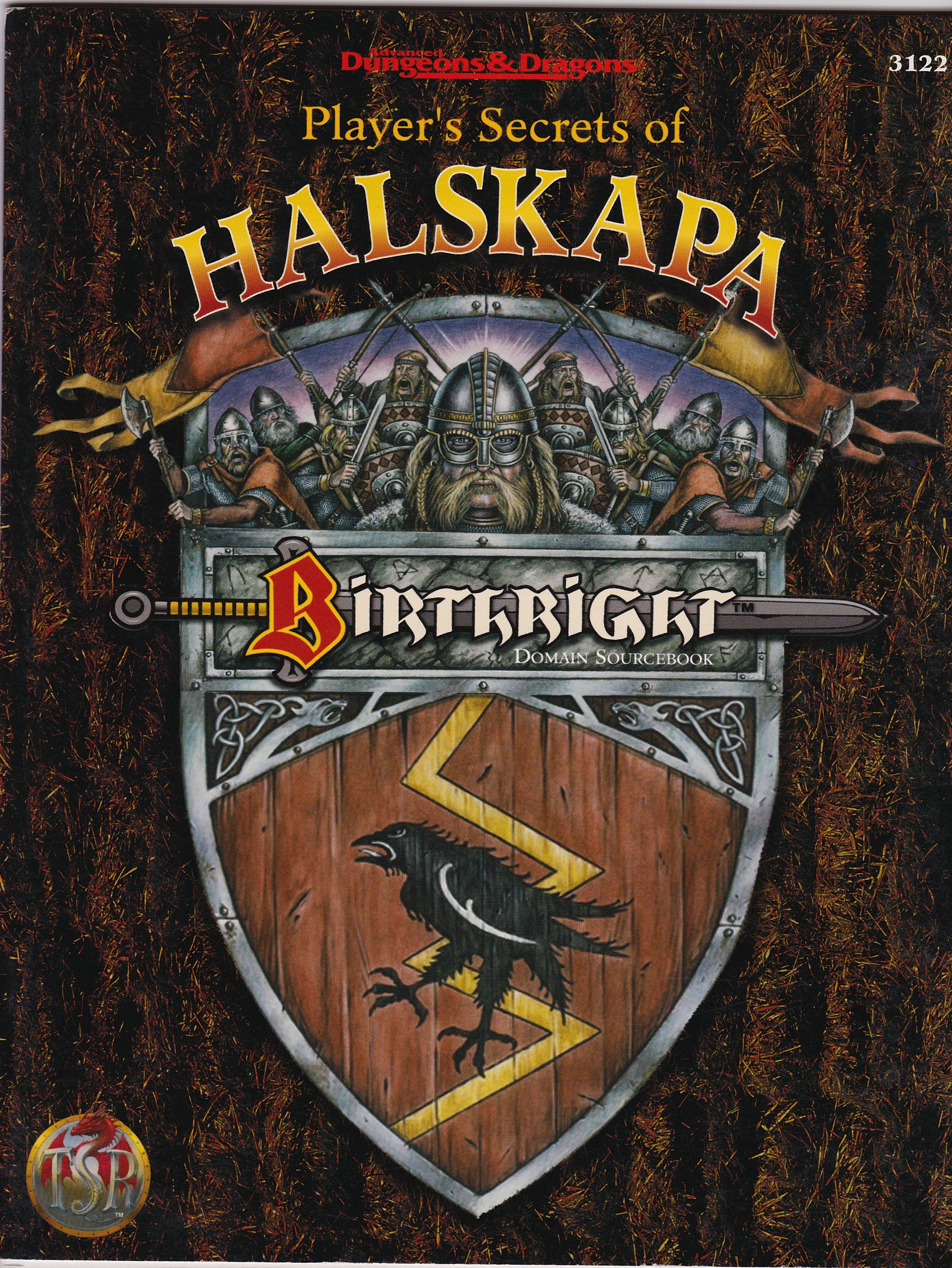 AD&D Birthright, Player's secret of Halskapa