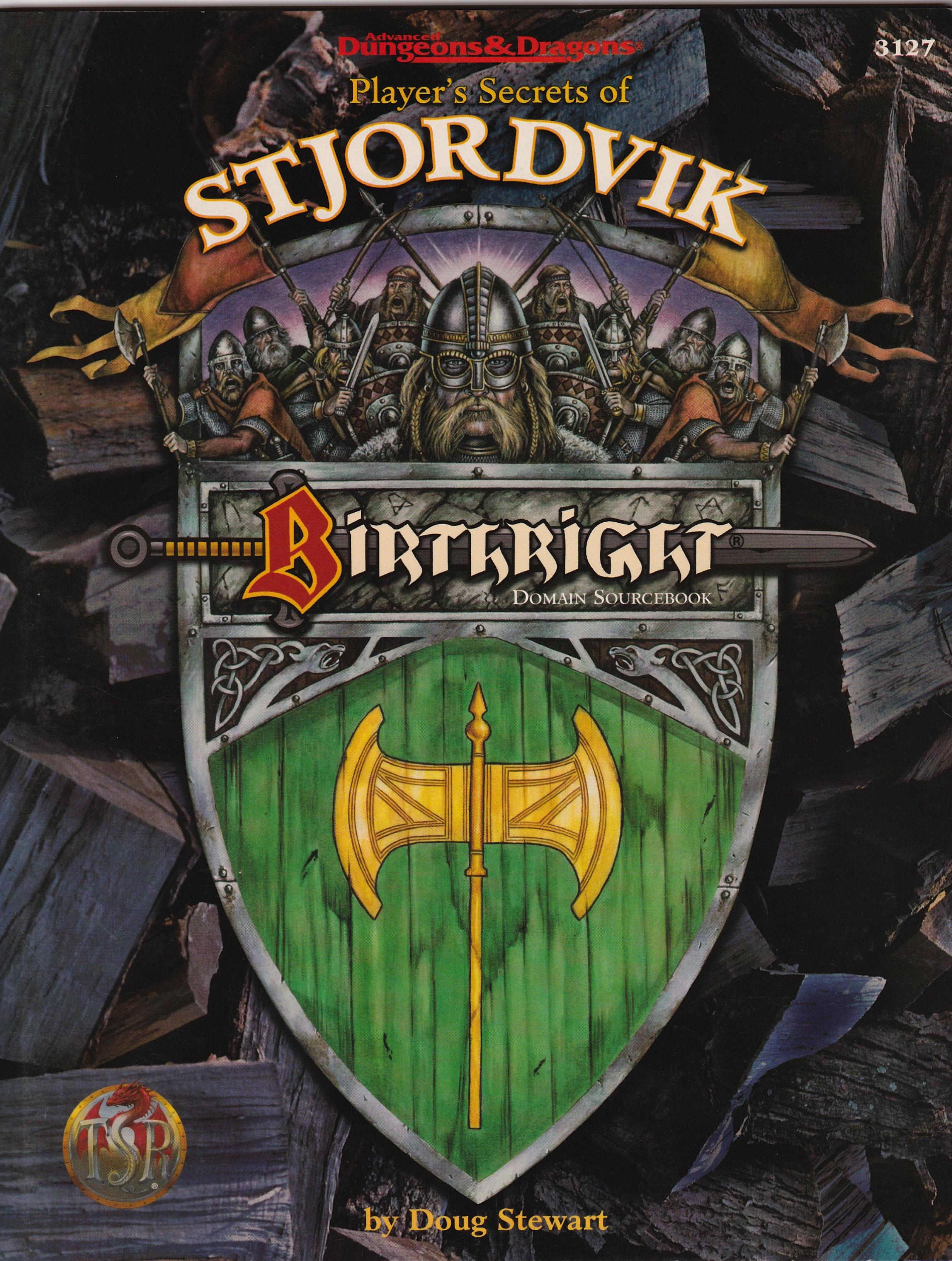 AD&D Birthright, Player's secret of Stjordvik