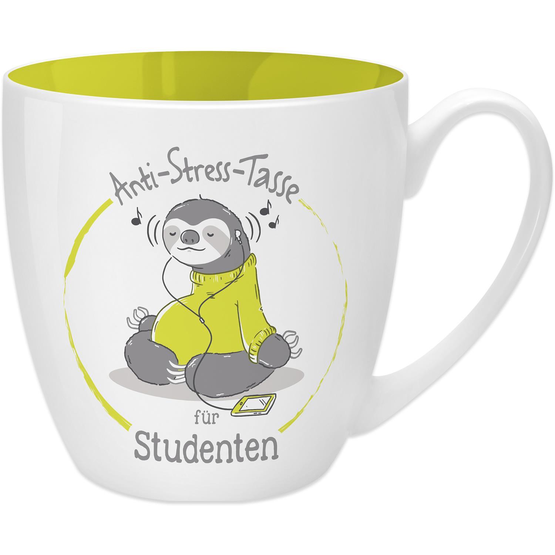 Anti-Stress-Tasse für Studenten