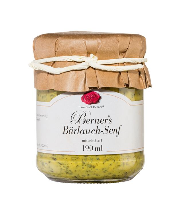 Berner's Bärlauch-Senf