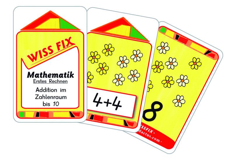 Wissfix Kartensatz Addition bis 10
