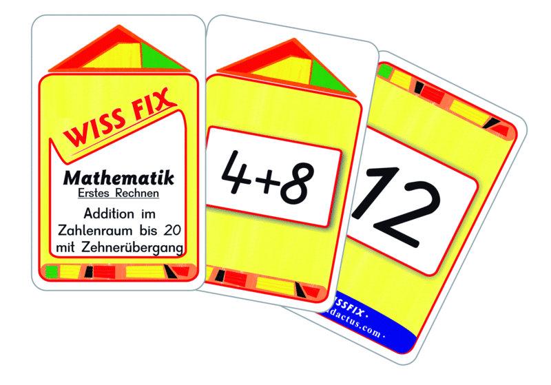 Wissfix Kartensatz Addition bis 20