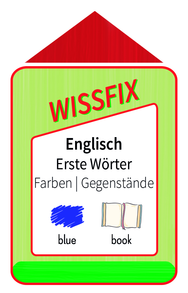 Wissfix Kartensatz Englisch - Farben - Gegenstände
