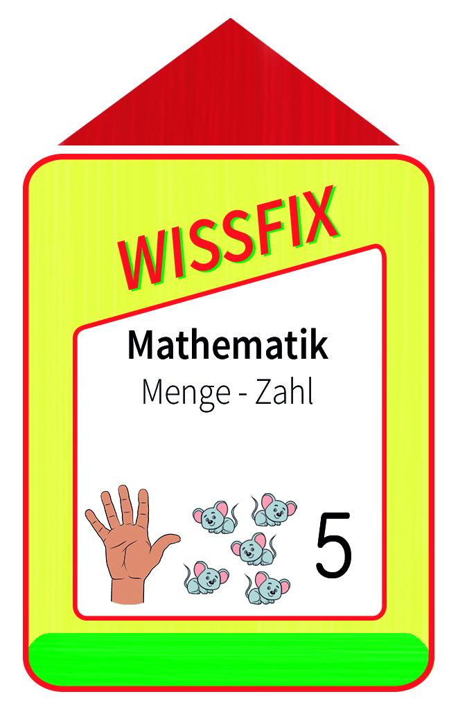 Wissfix Kartensatz - Mathematik Menge Zahl