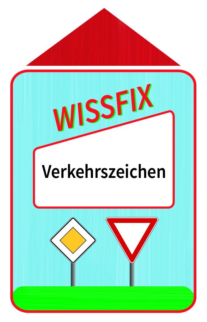 Wissfix Kartensatz Verkehrszeichen