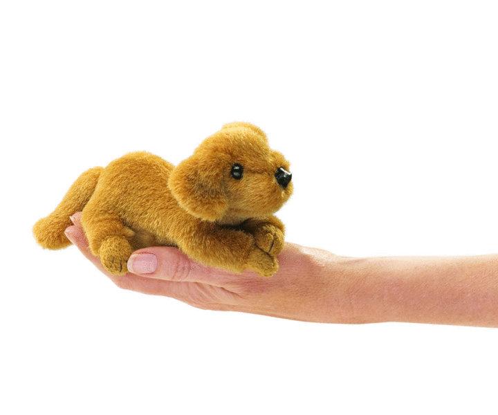 Fingerpuppe Hund-Golden Retriever