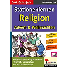 Stationenlernen Religion: Advent & Weihnachten