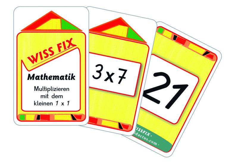 Wissfix Kartensatz Kleines 1x1