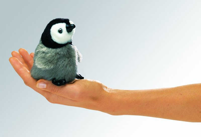 Fingerpuppe Pinguin