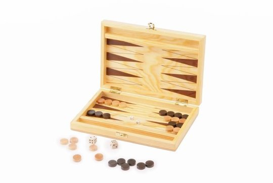 Backgammon Kiefernholz