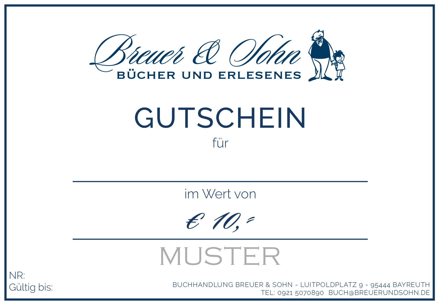 Breuer & Sohn Gutschein