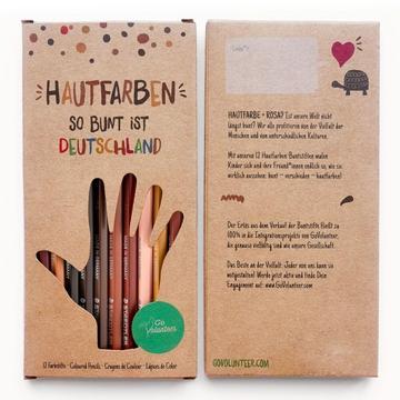 Hautfarben Buntstifte - Cover