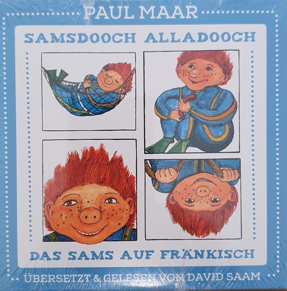 Samsdooch Alladooch - Das Sams auf Fränkisch - Cover