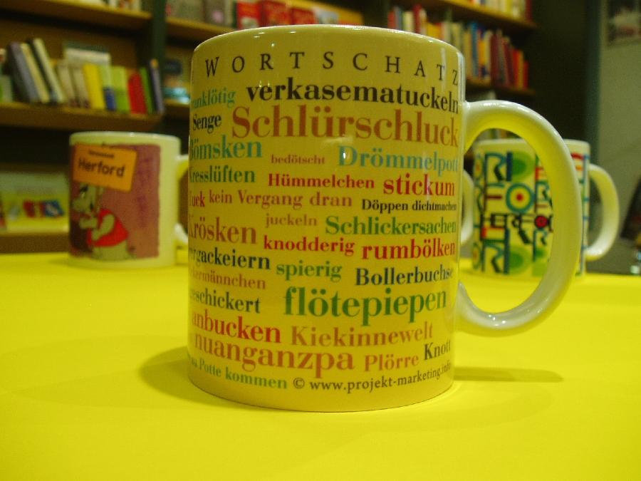 Tasse Ostwestfälischer Wortschatz