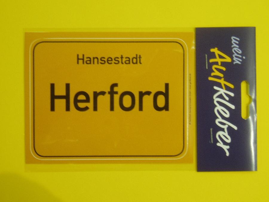 Aufkleber Hansestadt Herford