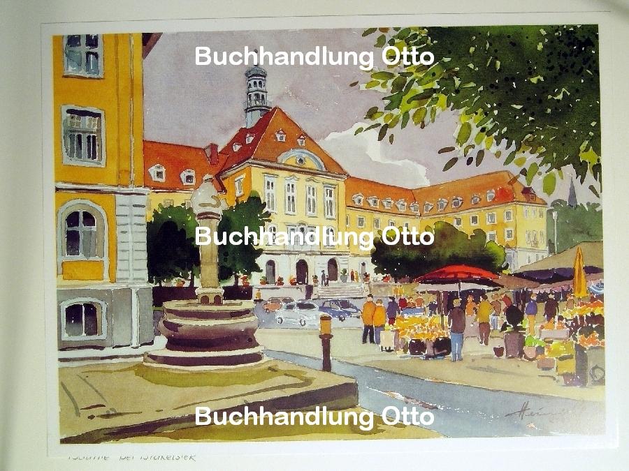 Rathaus mit Markt, Herford