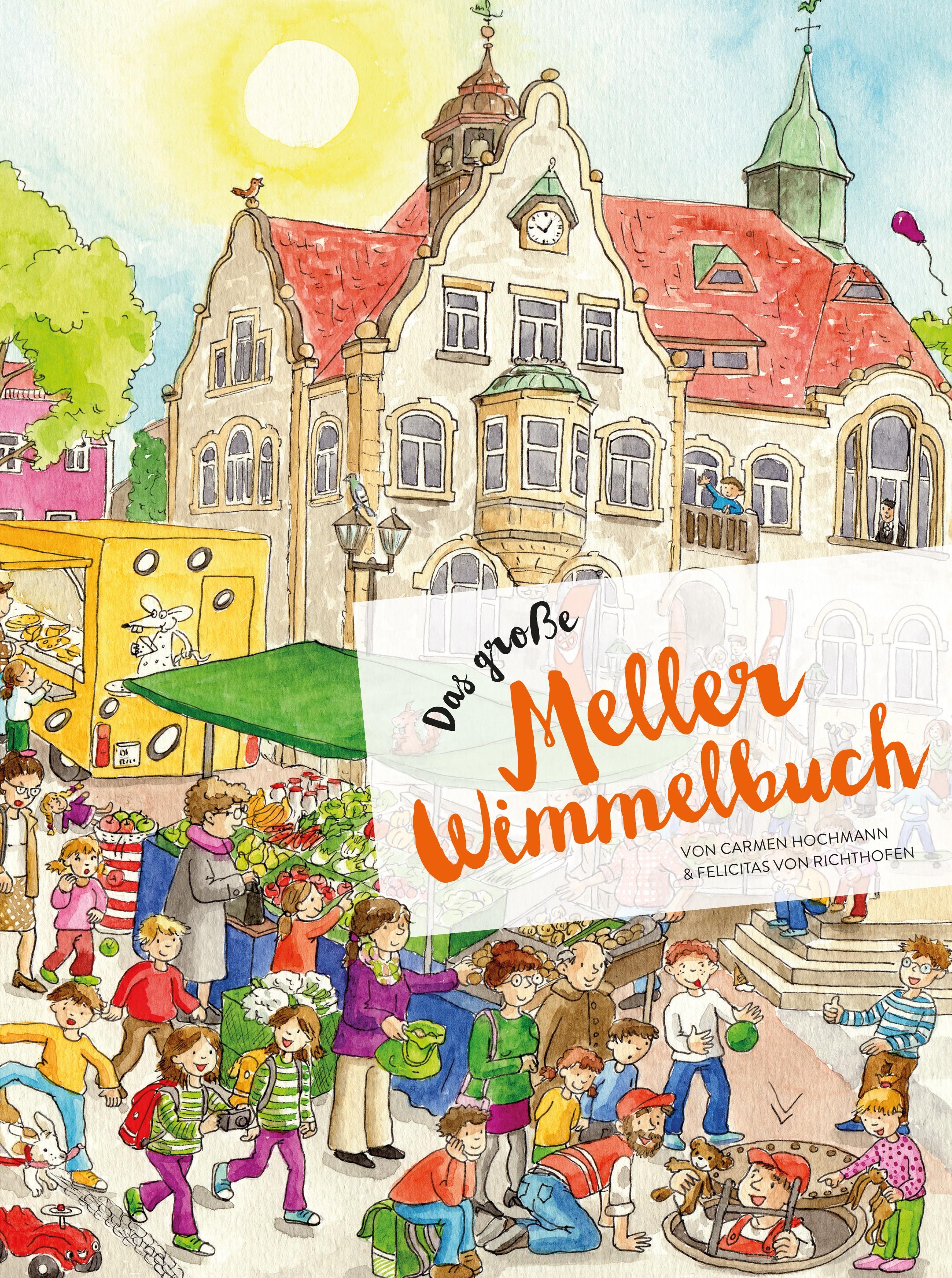 Melle Weihnachtsmarkt.Das Grosse Meller Wimmelbuch Von Carmen Hochmann Pappeinband