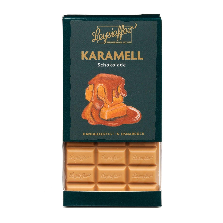 Karamellschokolade