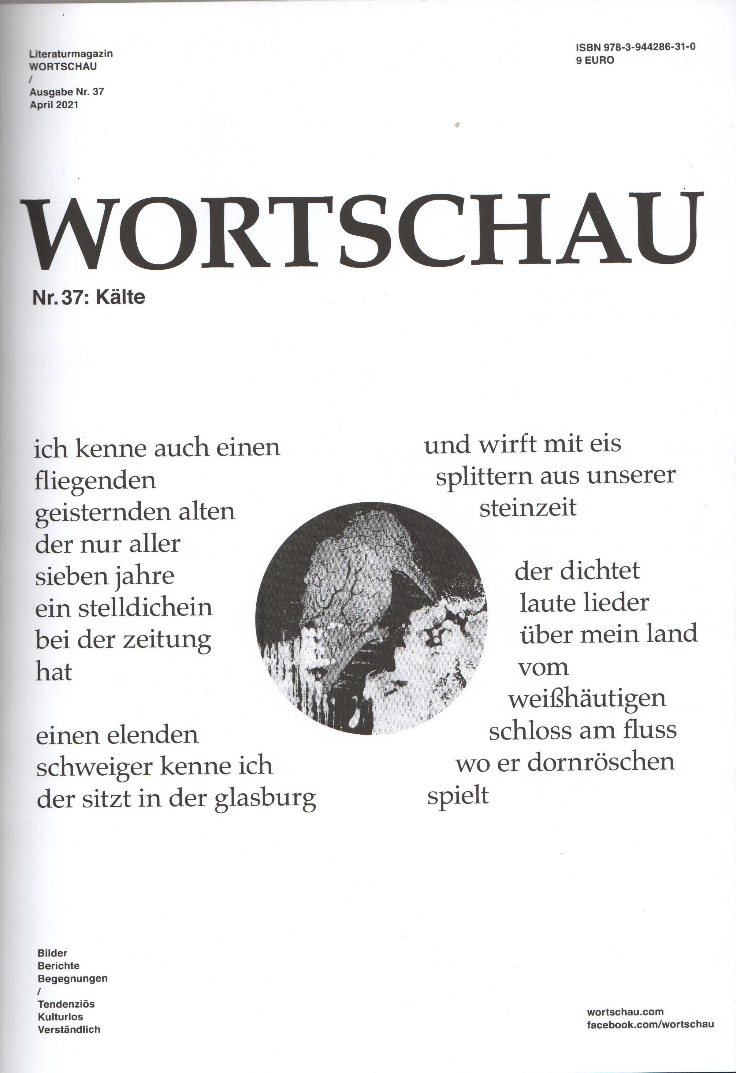 Wortschau Literaturmagazin - Cover