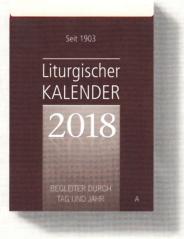 Liturgischer Kalender 2018