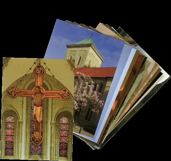 Postkarten mit Motiven aus dem Osnabrücker Dom