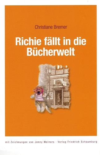 Richie fällt in die Bücherwelt - Cover