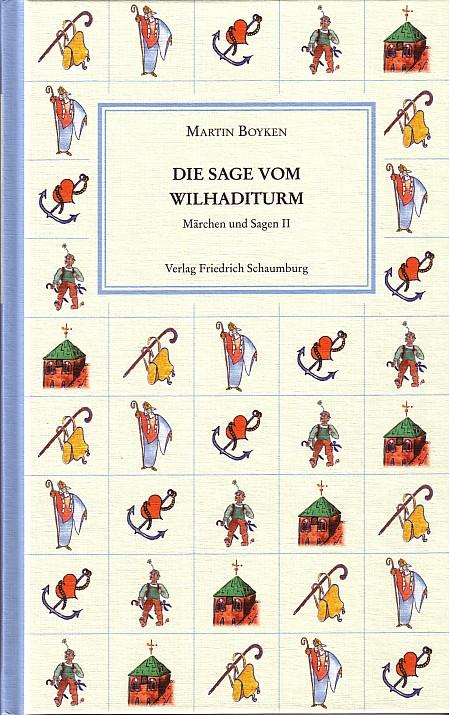 Die sage vom Wilhaditurm. - Cover