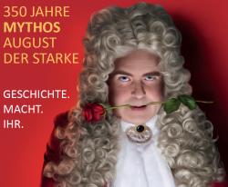 350 Jahre Mythos August der Starke - Cover