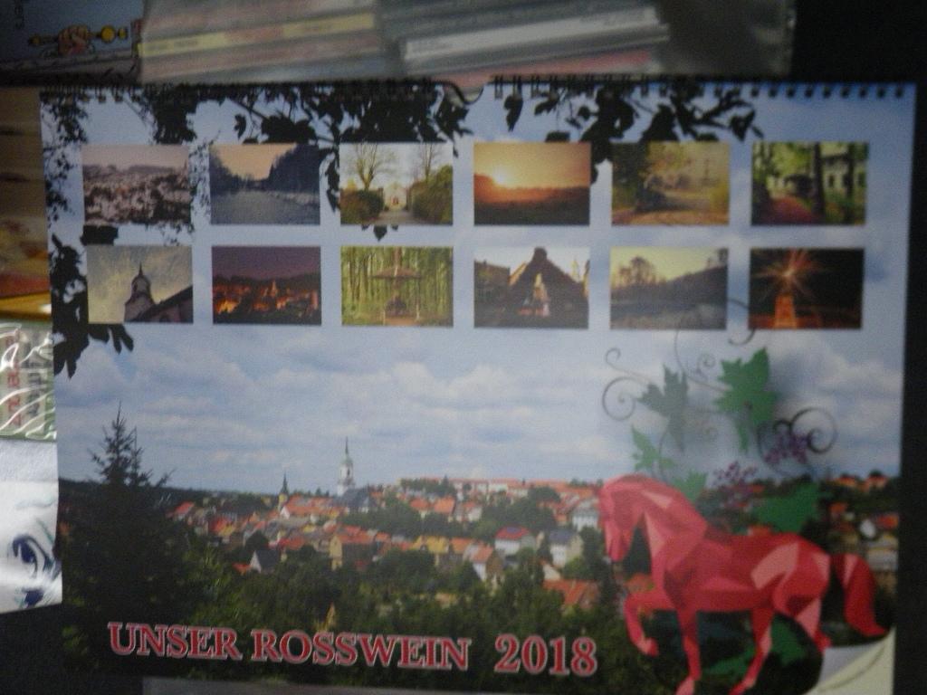 Wandkalender Unser Roßwein