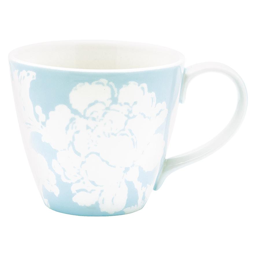 Mug Ingrid pale blue greengate