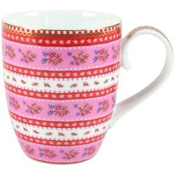 Becher Pip Studio Ribbon Rose pink